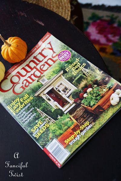 Cottage gardens magazine Autumn 2012