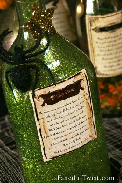 Potion Spell Labels 9