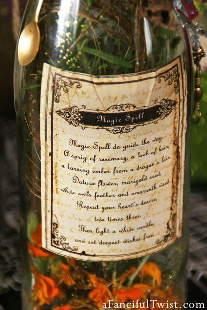 Potion Spell Labels 13