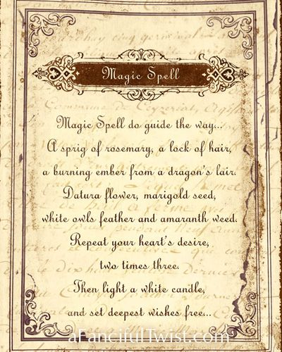 Magic Spell Print