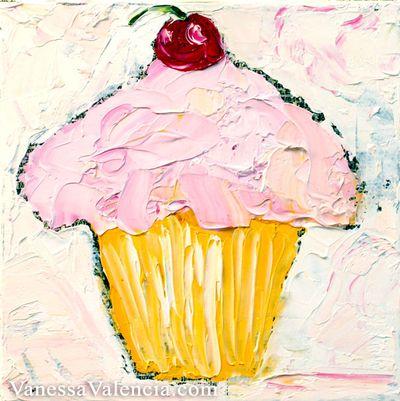 Cupcake oil Vanessa Valencia