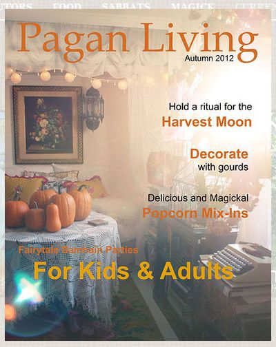 Pagan Living Autumn 2012