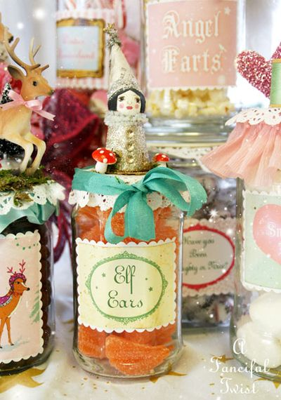 Christmas Jar Labels 16