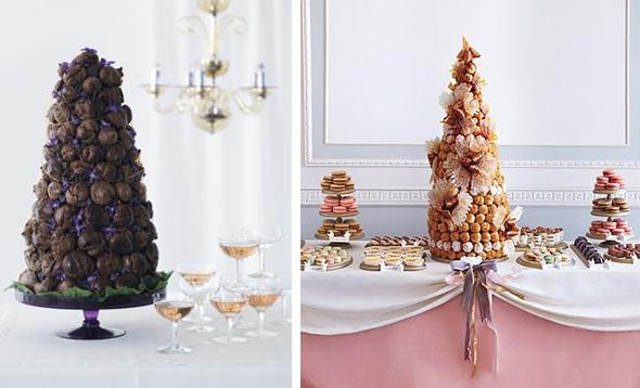 Croquembouche-cakes from jetfeteblog dot com