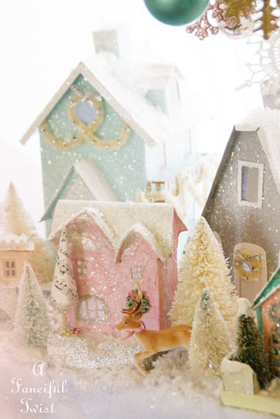 Winter village 1