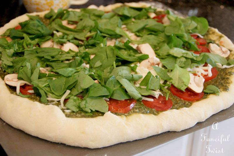 Homemade pizza 2