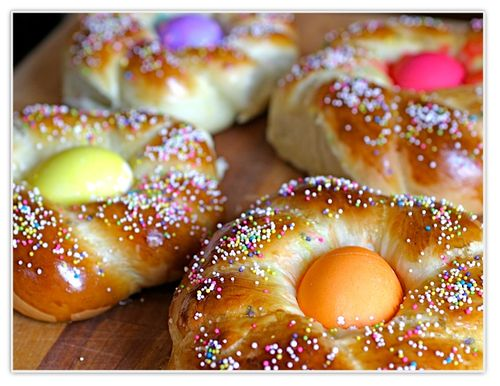 Easter breads