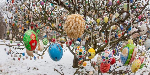 Easter tree 3