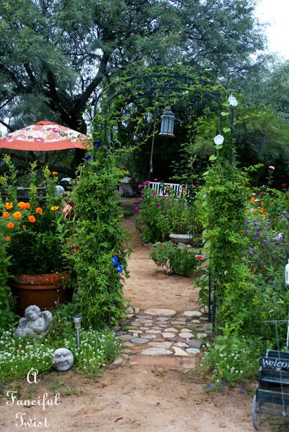 Garden collecting 9