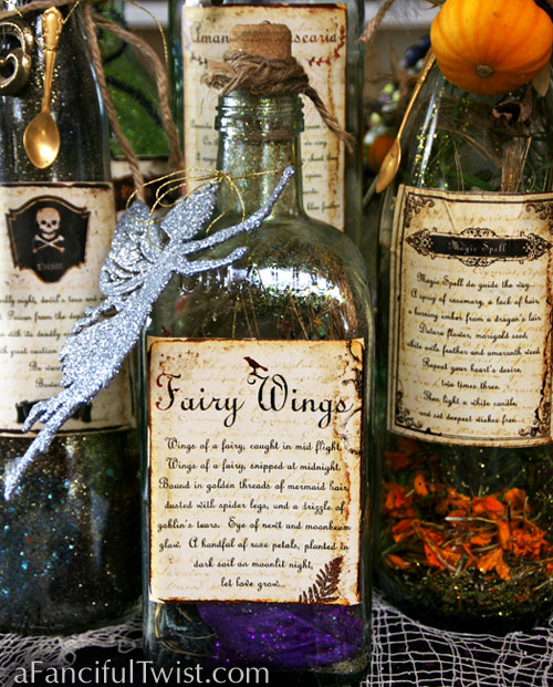Potion Spell Labels 8