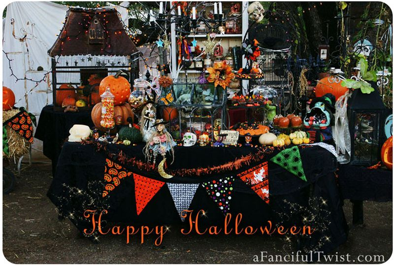 Hallowen Party Front of Card