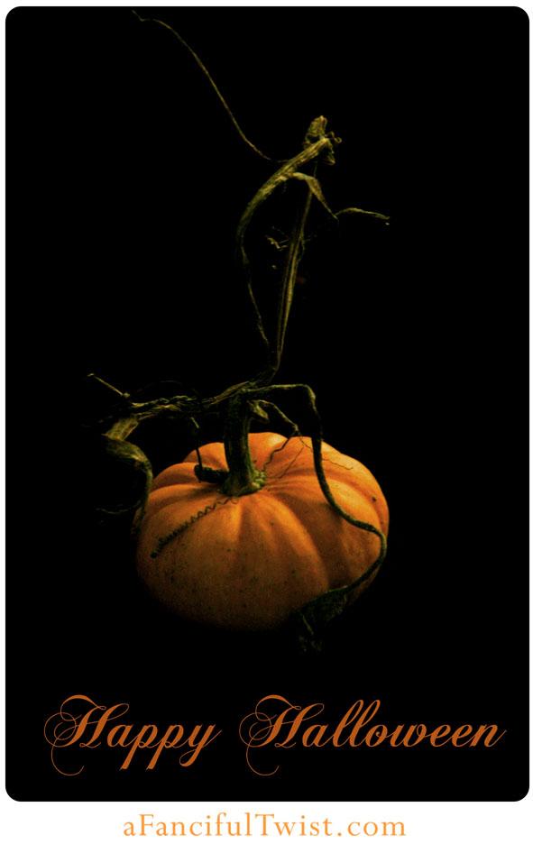 Happy Halloween Pumpkin FrontEtsy