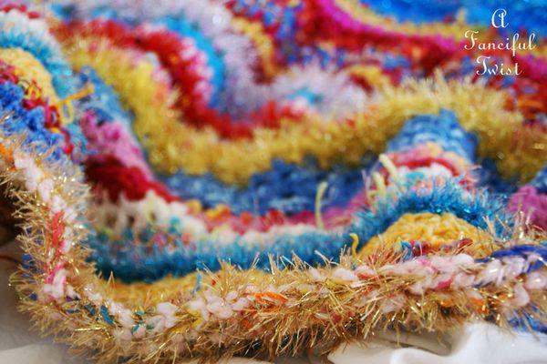 Crochet blanket 1 a