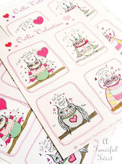 Owlie Valentine 1