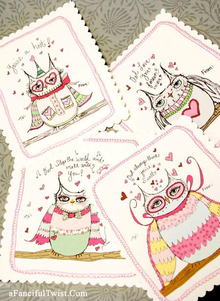 Owlie Valentine 2