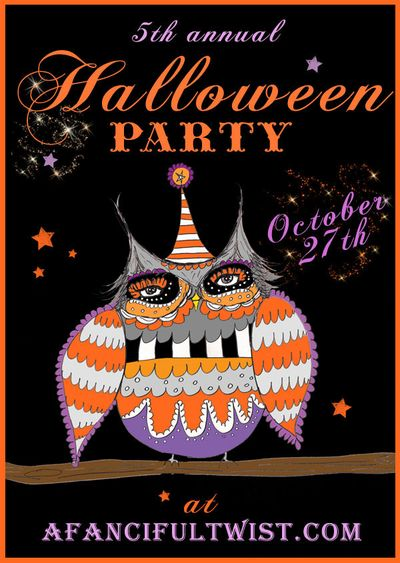 Wrapped: Oct. 27, 2012: A Fanciful Twist's Halloween party