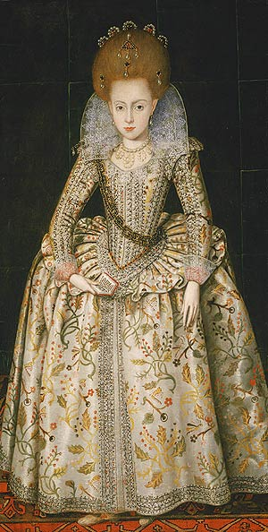 Princess Elizabath also Queen of Bohemia 1606