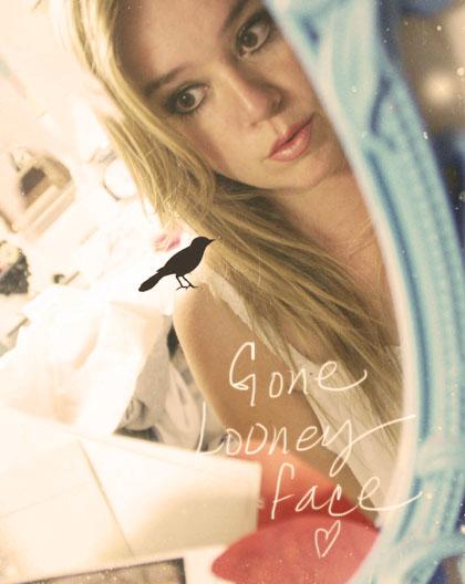 Gone looney face dark