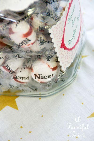 Christmas Jar Labels 21