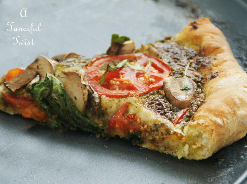 Homemade pizza 5