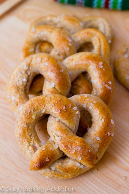 Homemade pretzels 2