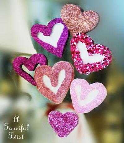Glue hearts 1