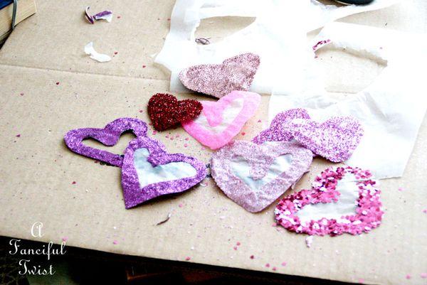 Glue hearts 5