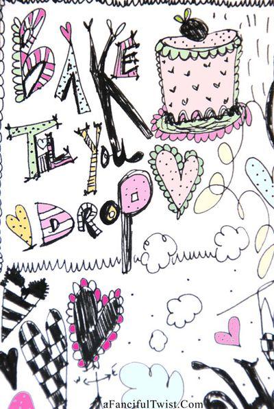 Doodle sweet 6