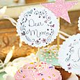Mom's Day Cupcake Toppers