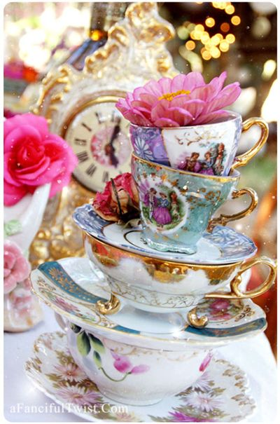 Mad Stacked Tea Sets card front