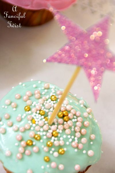 Fanciful Cupcake