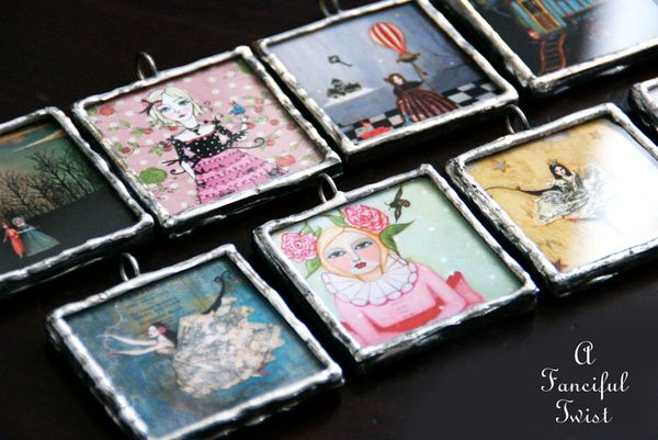 Soldered pendants 15