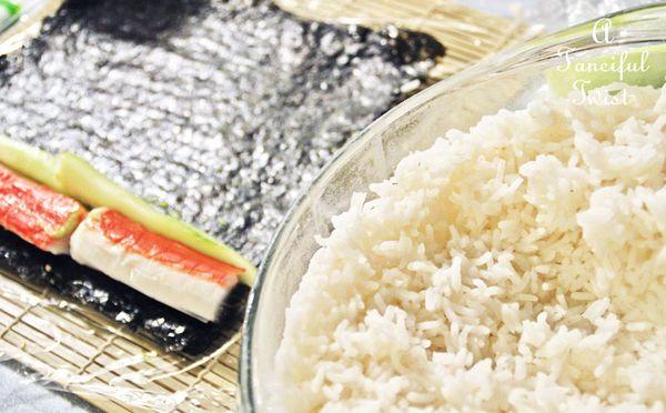 Homemade sushi 8