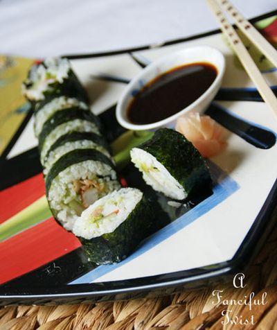 Homemade sushi 2