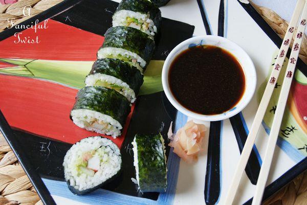 Homemade sushi 3