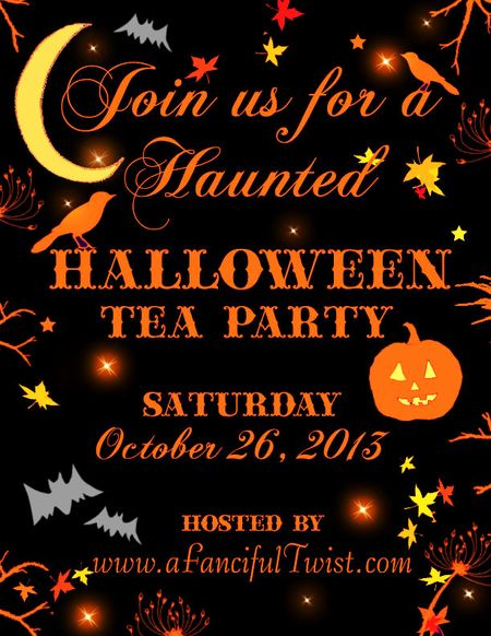A Fanciful Twist Halloween Invite 2013 flyer