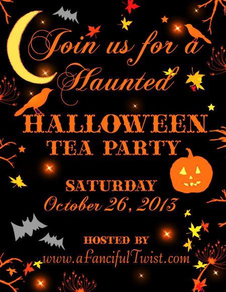A Fanciful Twist Halloween Invite 2013 flyer