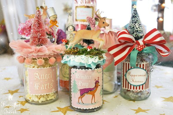 Christmas Jar Labels 4