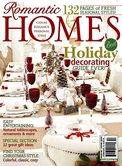 Romantic homes nov 2013