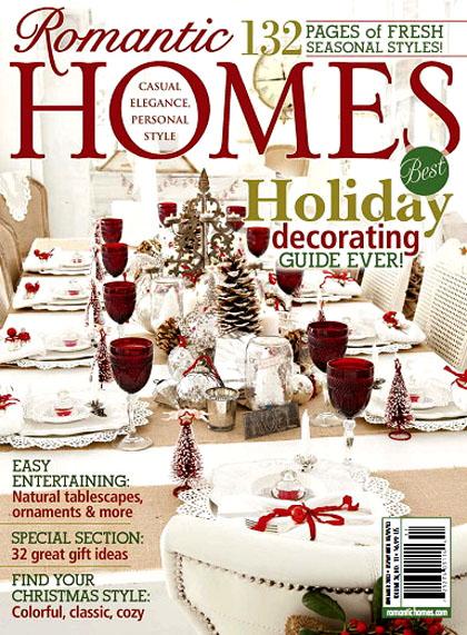 Romantic homes nov 2013