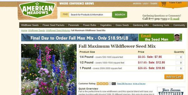American meadows dot com my garden