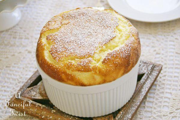 Lemon souffle 1