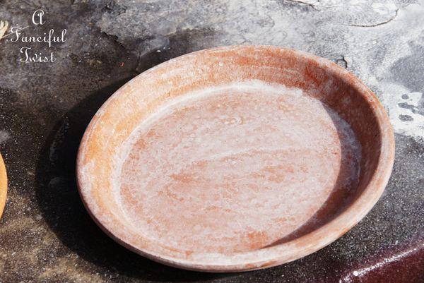 Mossy terracota pots 7