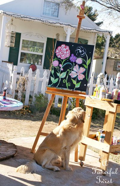 Flower painting 5