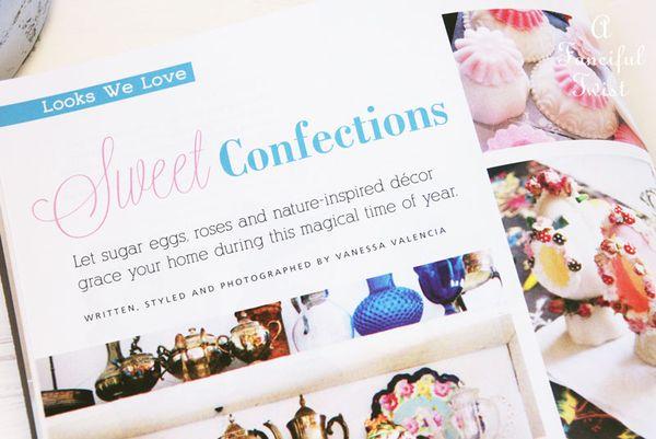 Flea market decor magazine spring 2014 1