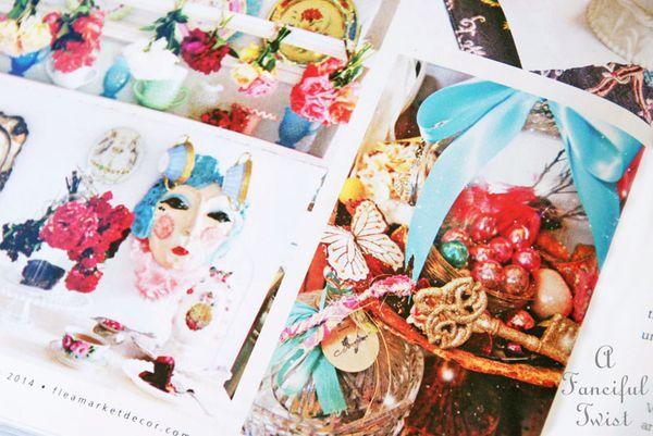 Flea market decor magazine spring 2014 3