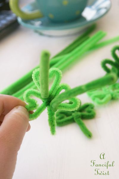 Pipe cleaner rings 25