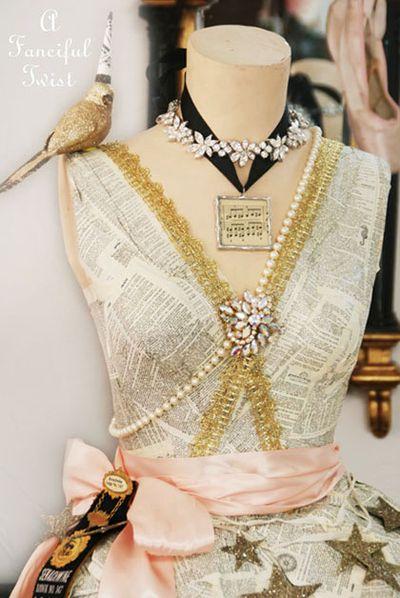 Paper dress 16