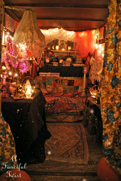 A Fanciful Twist The Fortune Teller In The Gypsy Garden