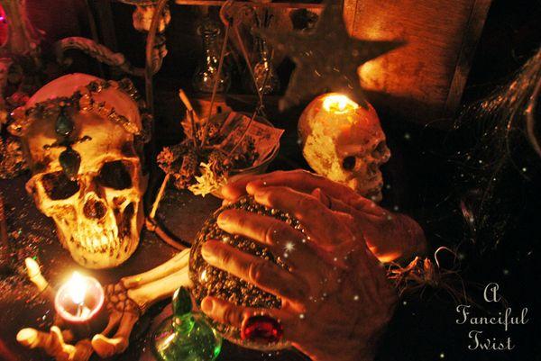 Fortune teller halloween 8